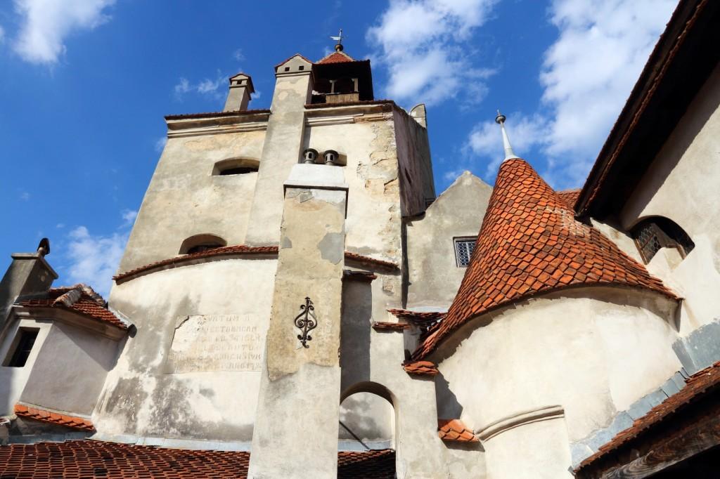Bran castle in Transylvania, Romania. Old building.