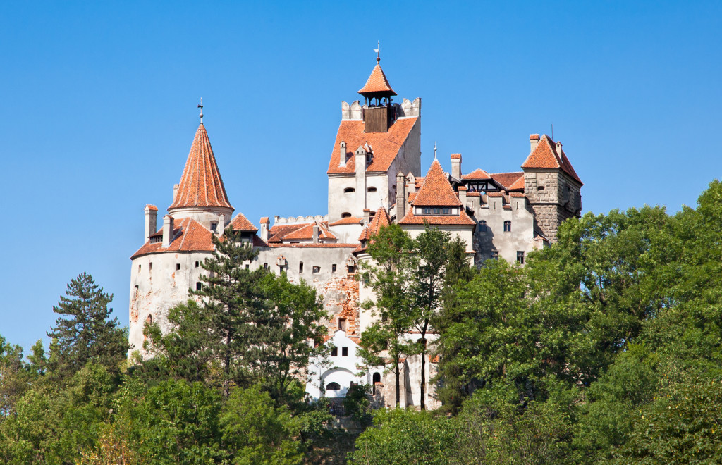 Dracula's Castle - Bran Castle in Transylvania, Romania, Europe